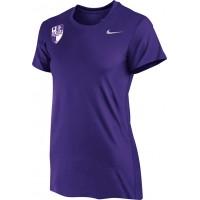 Oak Hills Soccer 04: COACH'S SHIRT - WOMEN'S - Nike Women's Legend Short-Sleeve Training Top - Purple