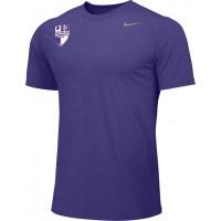 Oak Hills Soccer 01: COACH'S SHIRT - MEN'S - Nike Team Legend Short-Sleeve Crew T-Shirt - Purple